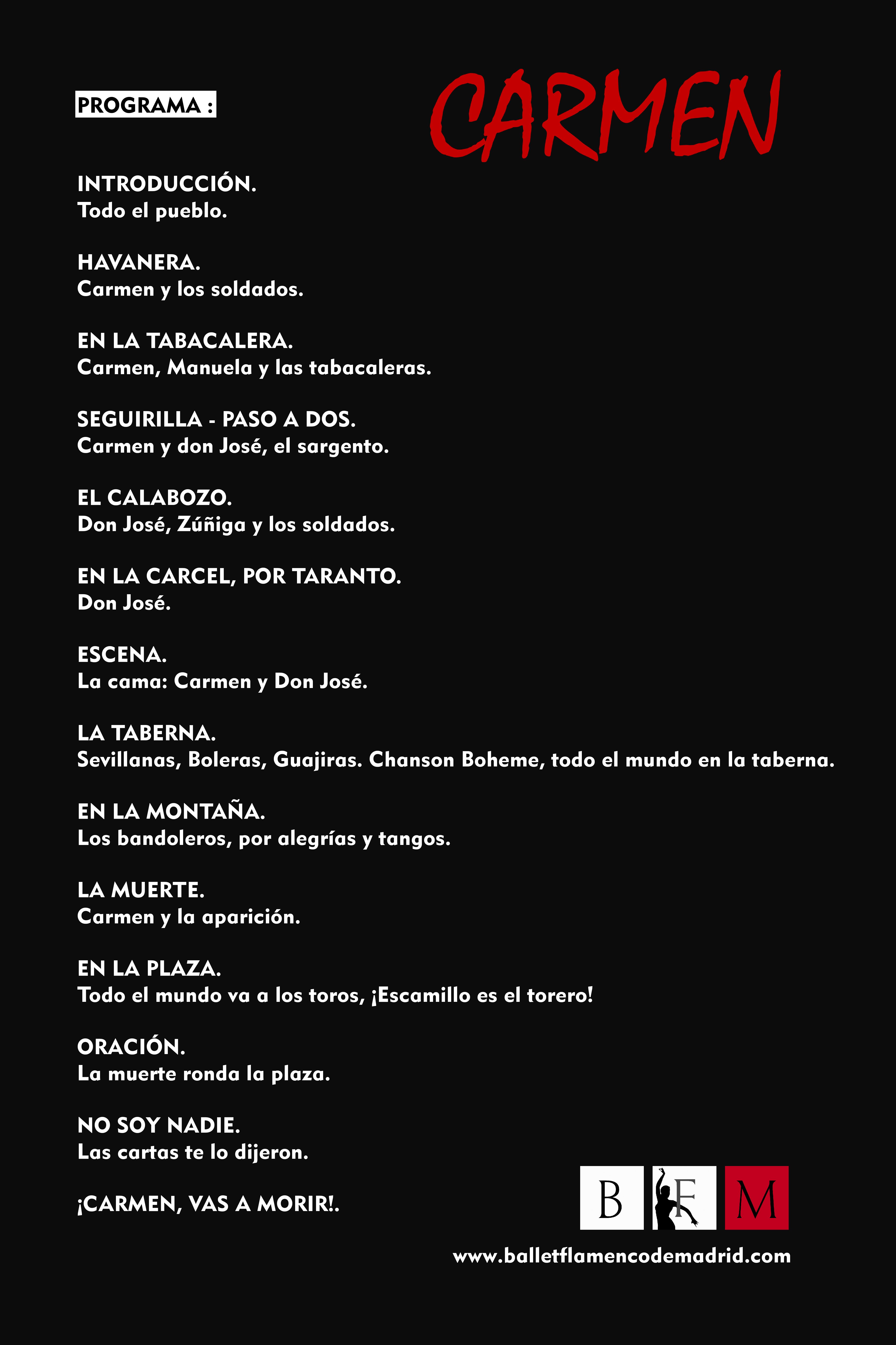Carmen Programa